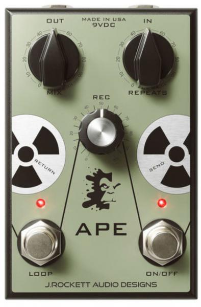 Volume, boost & expression effect pedal J. rockett audio designs APE Analog Preamp Experiment
