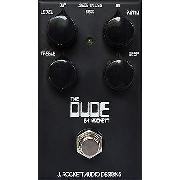 Overdrive, distortion & fuzz effect pedal J. rockett audio designs The Dude