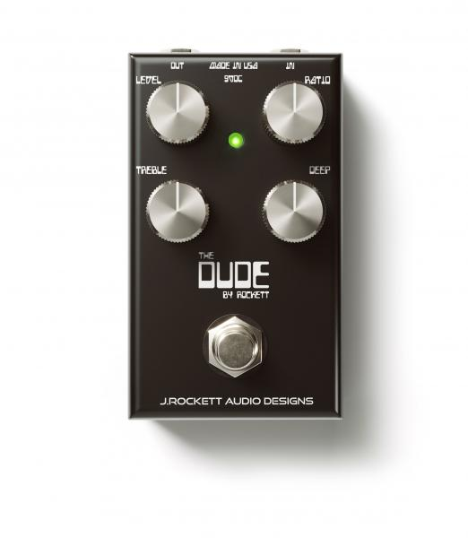 Overdrive, distortion & fuzz effect pedal J. rockett audio designs The Dude V2