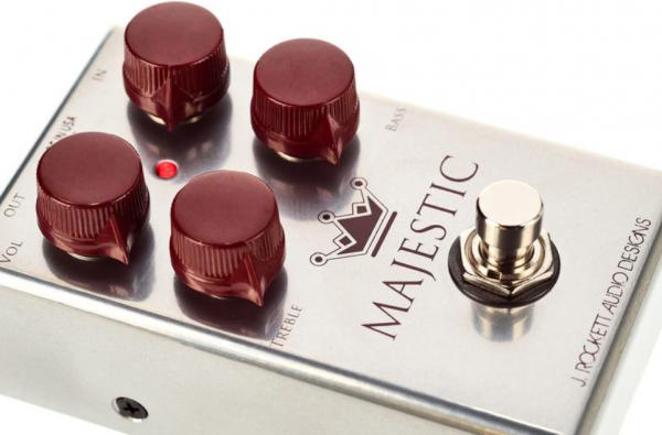 Overdrive, distortion & fuzz effect pedal J. rockett audio designs The Majestic Overdrive