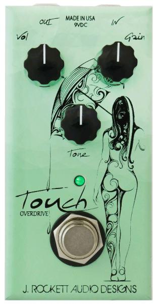 Overdrive, distortion & fuzz effect pedal J. rockett audio designs Touch Overdrive