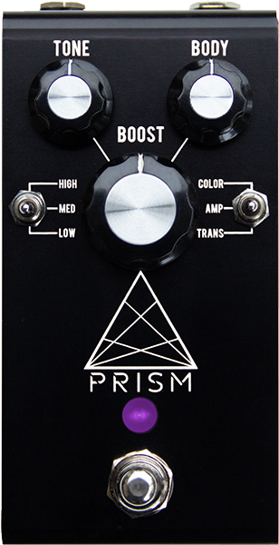 Volume, boost & expression effect pedal Jackson audio Prism Black Booster