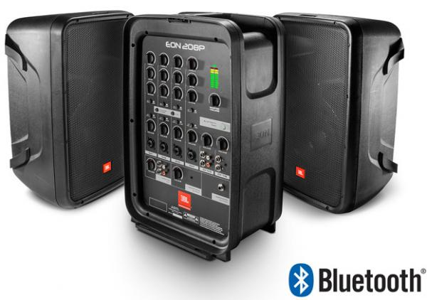 Complete pa system Jbl EON 208 P