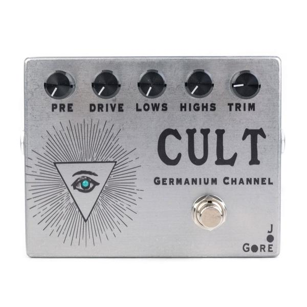 Overdrive, distortion & fuzz effect pedal Joe gore Cult Germanium Channel
