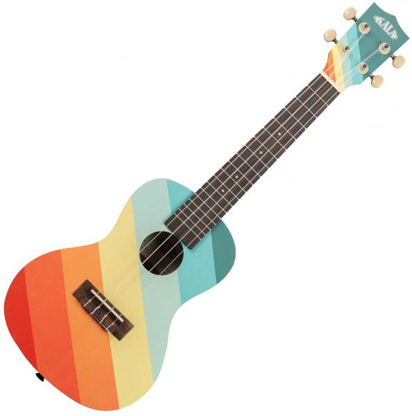 Ukulele Kala Surf Far Out Concert - Multicolor