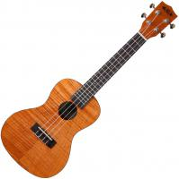 KA-CEM Exotic Mahogany Concert +Bag - Natural