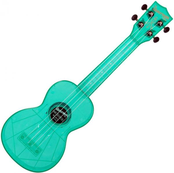 Ukulele Kala KA-SWF-BL The Waterman Soprano - Fluorescent blue raspberry