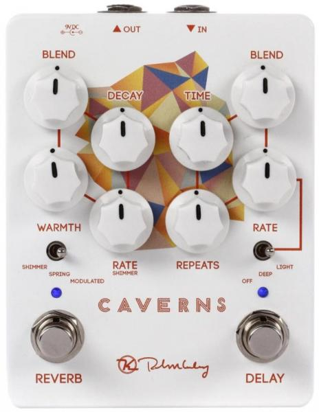 Reverb, delay & echo effect pedal Keeley  electronics Caverns Delay Reverb V2