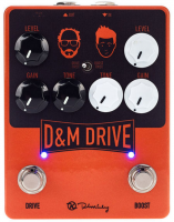 Overdrive, distortion & fuzz effect pedal Keeley  electronics D&M Drive & Boost