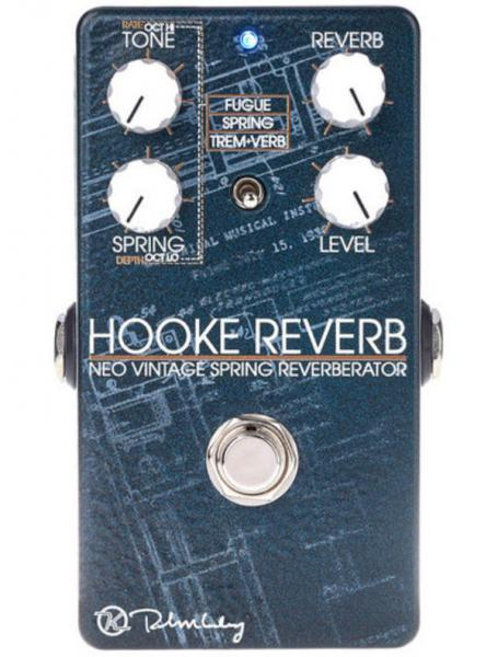 Reverb, delay & echo effect pedal Keeley  electronics Hooke Spring Reverb