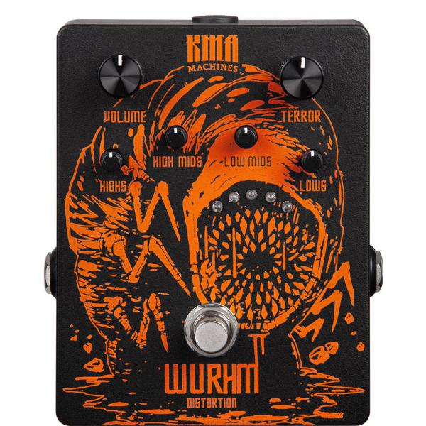 Overdrive, distortion & fuzz effect pedal Kma Wurhm Distorsion Ltd