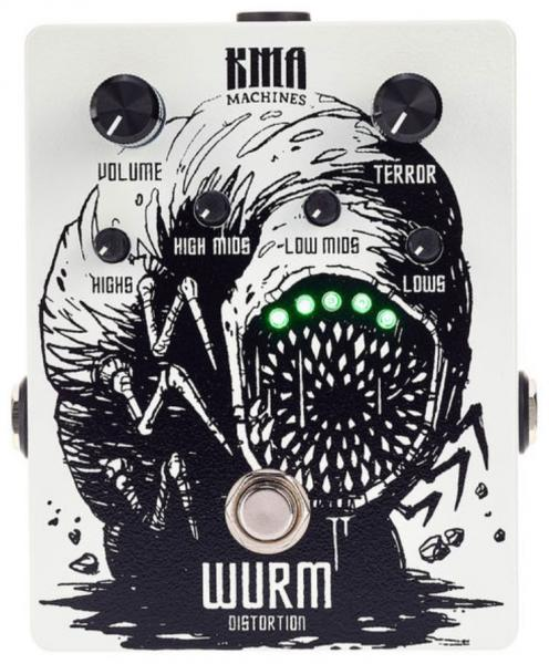 Overdrive, distortion & fuzz effect pedal Kma Wurm Distorsion