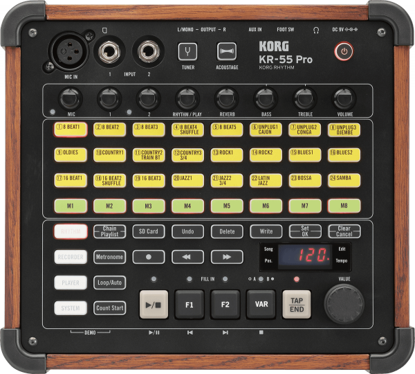 Drum machine Korg Kr-55 pro