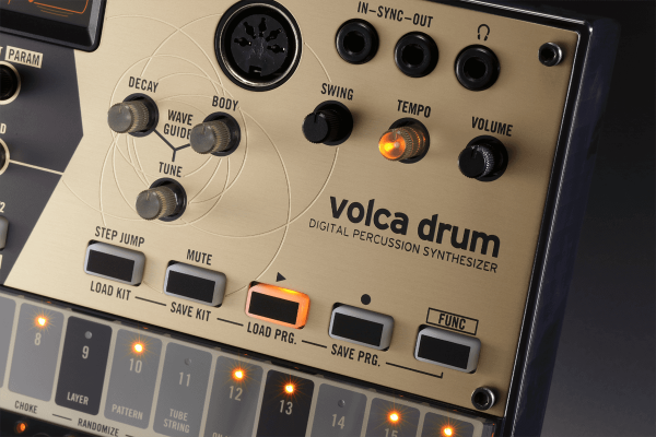 Drum machine Korg Volca Drum