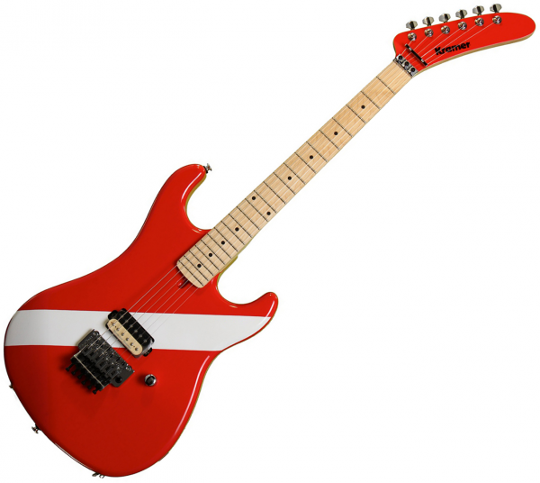 Solid body electric guitar Kramer The '84 - Diver down