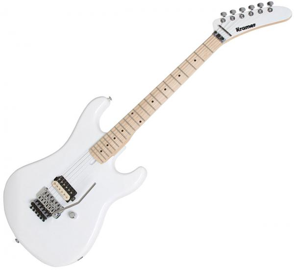 Solid body electric guitar Kramer The '84 - White