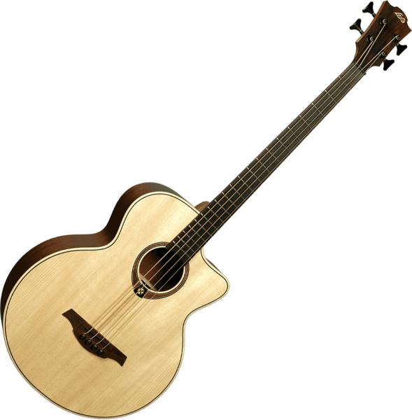 Acoustic bass Lag Tramontane T177BCE - Naturel