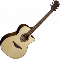 Acoustic guitar Lag Tramontane T318ACE - Natural