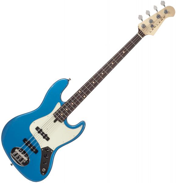 Solid body electric bass Lakland Adam Clayton 44-60 USA - Lake placid blue