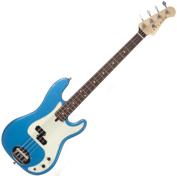 Solid body electric bass Lakland Adam Clayton 44-64 USA - Lake placid blue