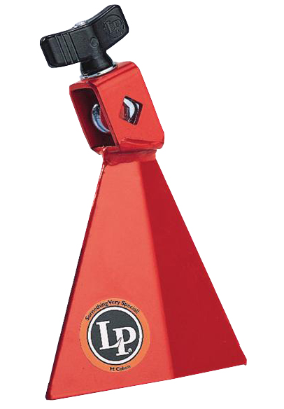 Bell Latin percussion Cloche Jam Bell Grave Rouge - LP1233