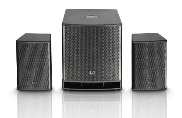 Complete pa system Ld systems DAVE 15 G3