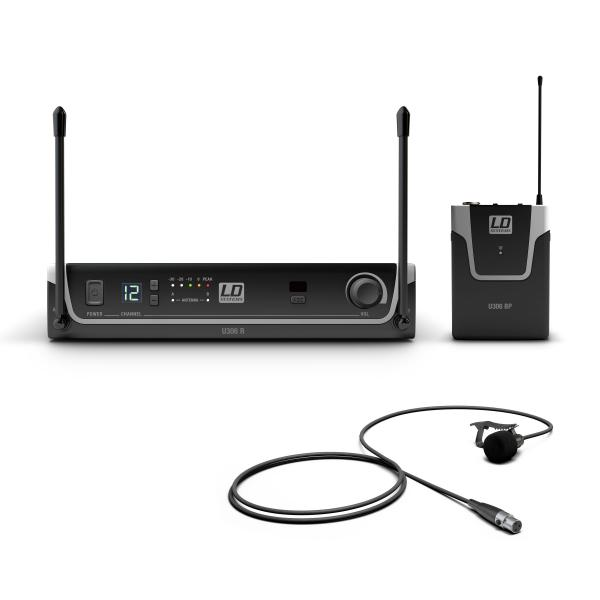 Wireless lavalier microphone Ld systems U306 BPL