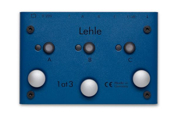 Switch pedal Lehle 1AT3 SGOS SWITCHER 1 ENTREE 3 SORTIES