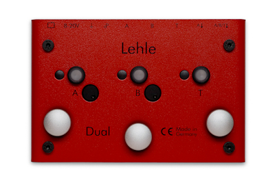 Switch pedal Lehle DUAL SGOS