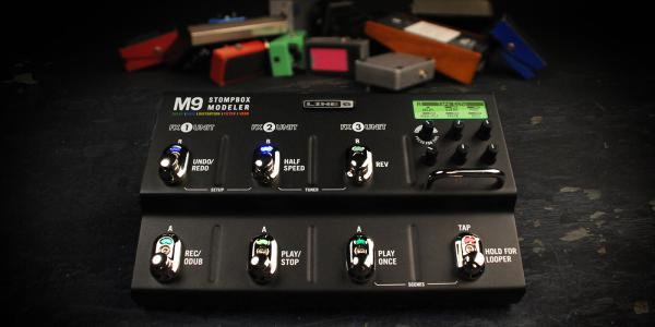 Multieffect for electric guitar Line 6 M13 Stompbox