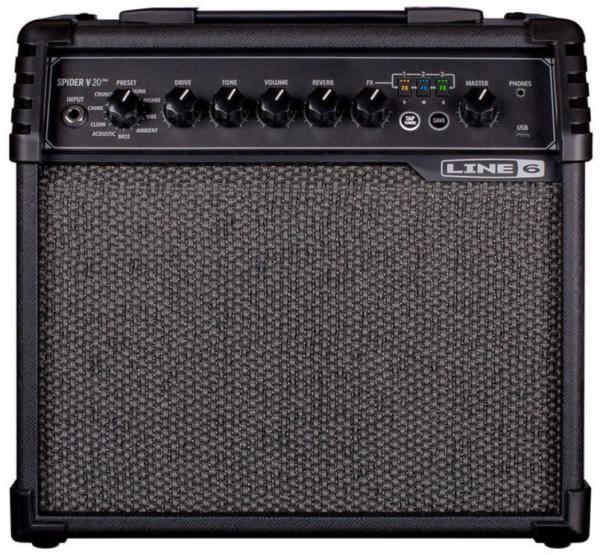 Electric guitar combo amp Line 6 Spider V 20 MkII