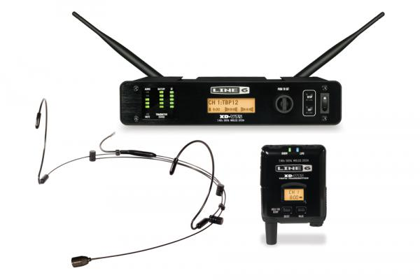 Wireless headworn microphone Line 6 XD-V75HS