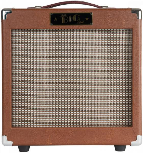Electric guitar combo amp Little big amp LB-5 Phase 2 - Brown