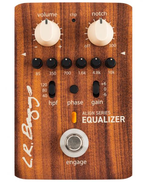 Acoustic preamp Lr baggs Align Equalizer Acoustic Preamp