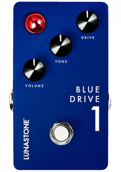 Overdrive, distortion & fuzz effect pedal Lunastone Blues Drive 1