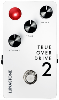 Overdrive, distortion & fuzz effect pedal Lunastone TrueOverDrive 2