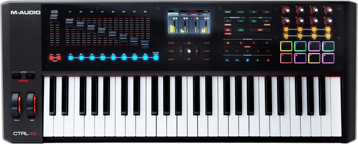 M-audio CTRL 49 Controller-keyboard