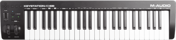 Controller-keyboard M-audio Keystation 49 MK3