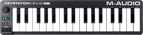 Controller-keyboard M-audio Keystation Mini 32 MK3