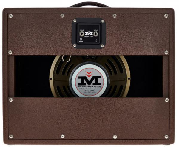 Electric guitar amp cabinet Magnatone Traditional Collection 1x12 Cabinet