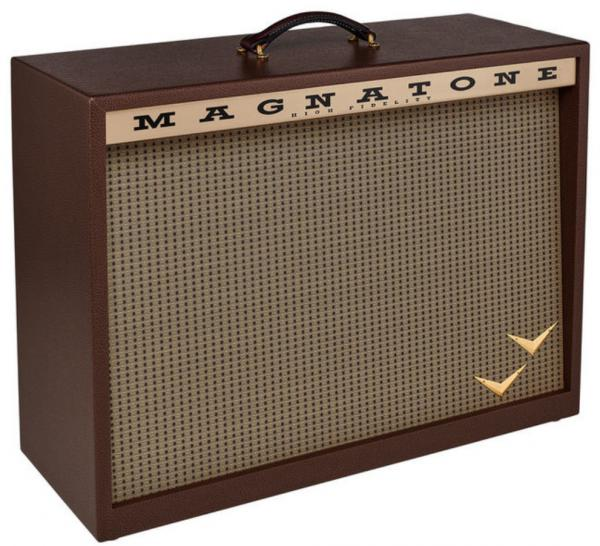Electric guitar amp cabinet Magnatone Traditional Collection 2x12 Cabinet