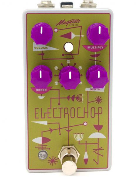 Modulation, chorus, flanger, phaser & tremolo effect pedal Magnetic effects Electrochop Optical Tremolo
