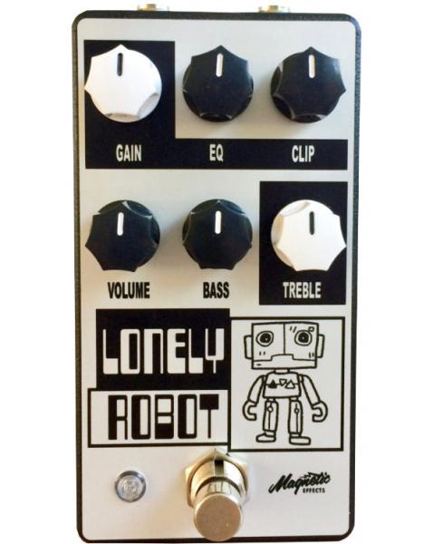 Overdrive, distortion & fuzz effect pedal Magnetic effects Lonely Robot Overdrive/Distortion