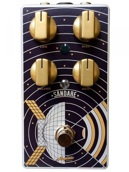 Overdrive, distortion & fuzz effect pedal Magnetic effects Sändare V2 Overdrive Booster