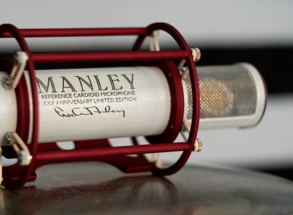 Studio recording and live microphone Manley REFERENCE CARDIOIDE LIMITED ANNIVERSARY XXX