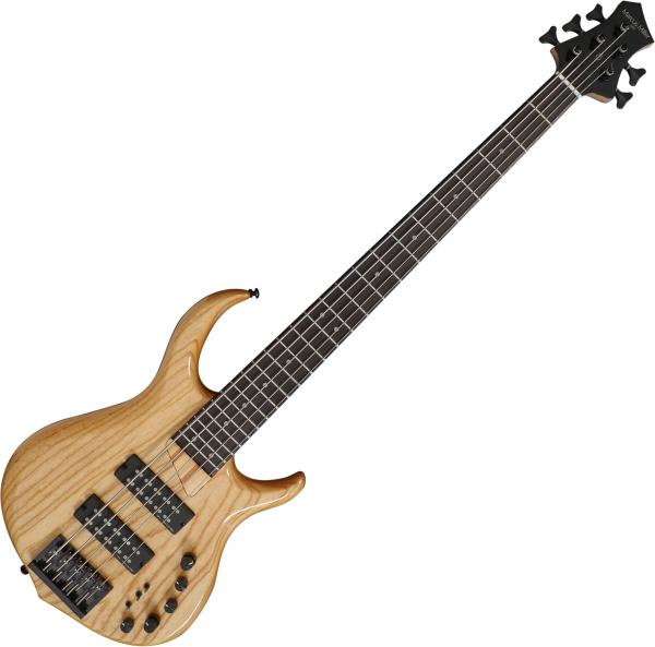 Solid body electric bass Marcus miller M5 Swamp Ash 5ST - Natural