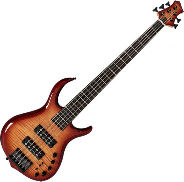 Solid body electric bass Marcus miller M7 Alder 5ST 2nd Gen (No Bag) - Brown sunburst