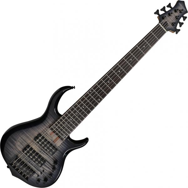 Solid body electric bass Marcus miller M7 Alder 6ST 2nd Gen - Transparent black