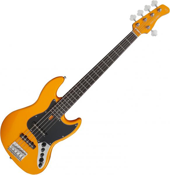 Solid body electric bass Marcus miller V3 5ST 2nd Gen (No Bag) - Orange
