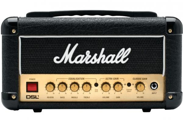 marshall dsl1h head electric guitar amp head star 39 s music. Black Bedroom Furniture Sets. Home Design Ideas